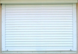 Hurricane Roll Away Shutters